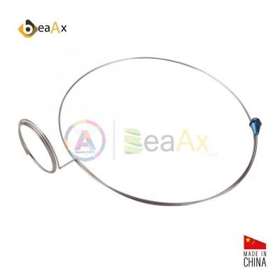Molla portalente universale acciaio inox con terminale antigraffio per monocolo BX111016