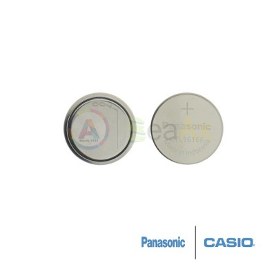 Casio capacitor CTL-1616F lithium battery rechargeable