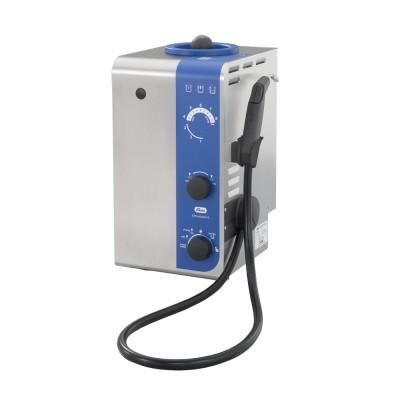 Generatore di vapore, Vaporizzatore con manipolo, pompa, aria compressa e vapore umido Elmasteam 8 basic
