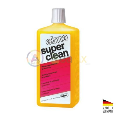 Liquido di lavaggio per metalli preziosi Elma Super Clean - Flacone da 1 lt