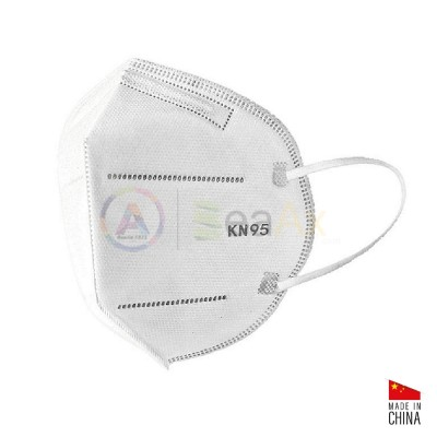Mascherina KN95 / FFP2 confezione 10 pz. Dispositivo a norma CE  MASK-KN95