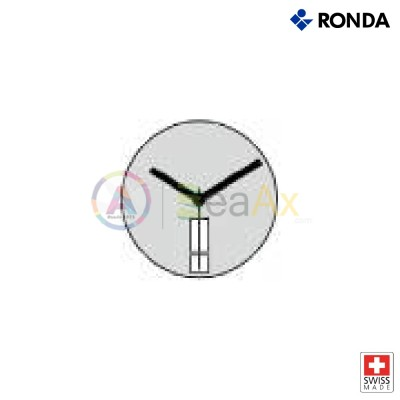 Movimento al quarzo Ronda 517 / D2 con doppio calendario H6 DayDate Swiss Made
