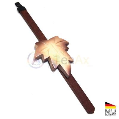 Pendolino a foglia in legno marrone chiaro Cucù foresta nera Made in Germany BL4488.3