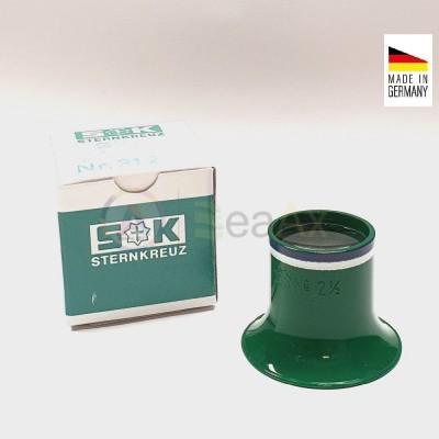 Monocolo da orologiaio prefessionale plastica Sternkreuz Germany n° 2.5 - 4x
