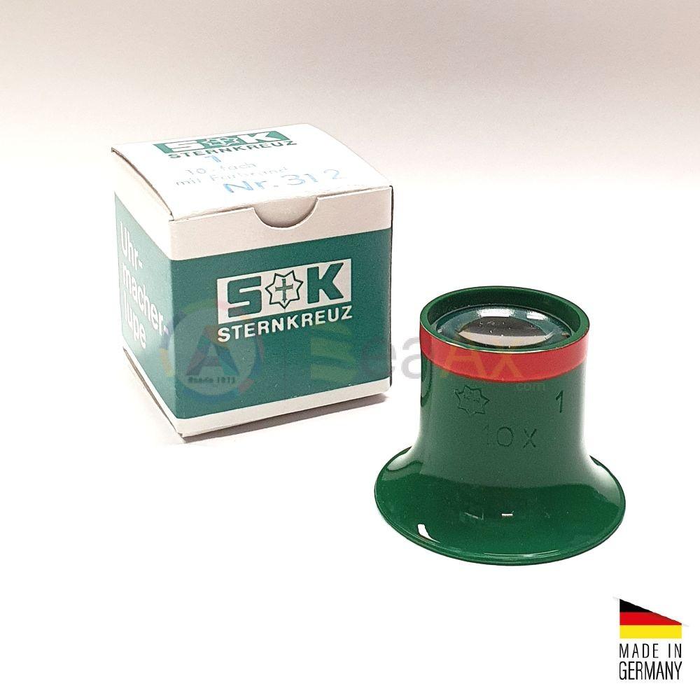 Monocolo da orologiaio prefessionale plastica Sternkreuz Germany n° 1 - 10x BL312SK.10