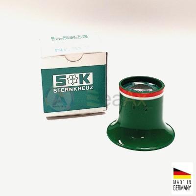 Monocolo da orologiaio prefessionale plastica Sternkreuz Germany n° 1.5 - 6.7x
