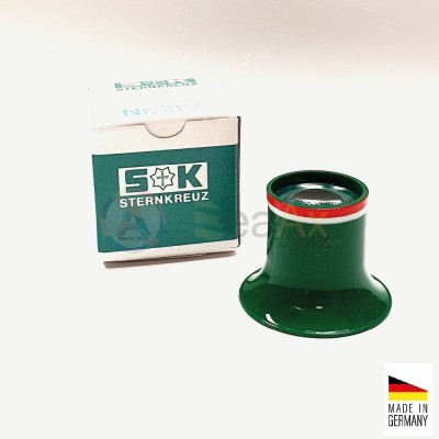 Monocolo da orologiaio prefessionale plastica Sternkreuz Germany n° 1.5 - 6.7x BL312SK.15