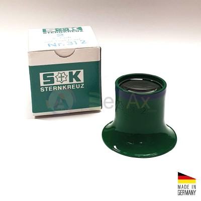 Monocolo da orologiaio prefessionale plastica Sternkreuz Germany n° 2 - 5x