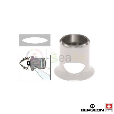 Lente monoculare forato professionale da orologiaio Bergeon Air - Swiss Made