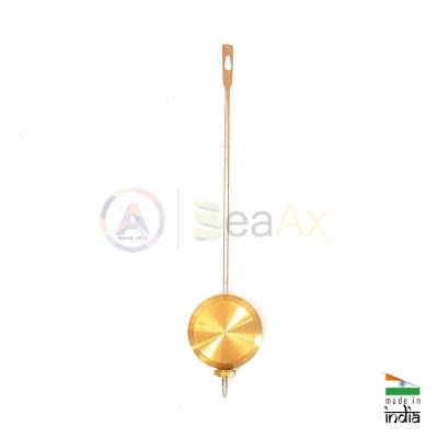 Universal pendulum brass with outer nut 80 g. - ø 35 mm
