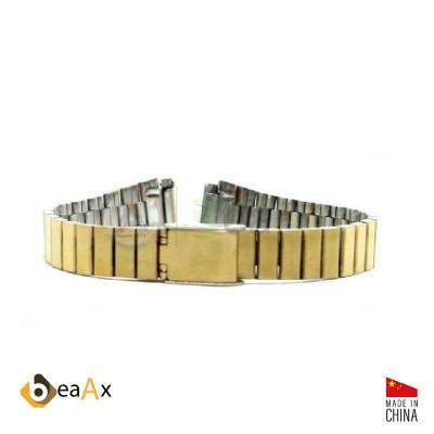 Cinturino compatibile in acciaio inox dorato per orologio Casio LA-670WGA