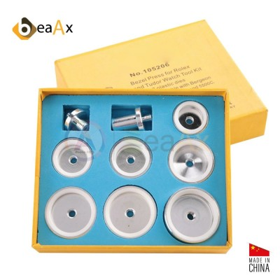 Tasselli montaggio ghiere 7 pz in alluminio con rivestimento interno antigraffio BX106017
