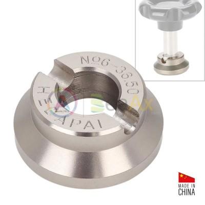 Tassello per fondo cassa Rolex Deepsea n° 6 misura 36.50 mm in acciaio inox