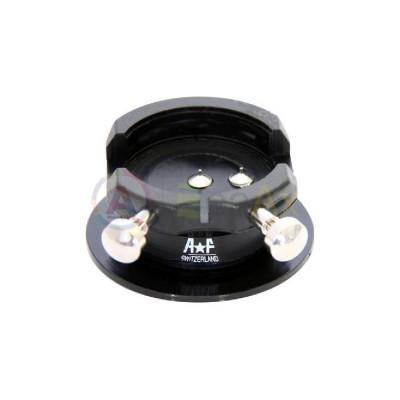 Portamovimento plastica AF Switzerland calibrato Valjoux ETA 7750 base pulsanti