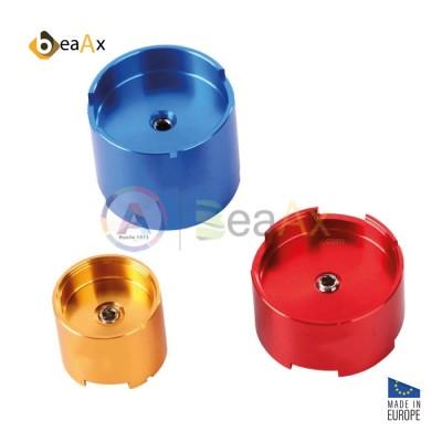 Portamovimento alluminio set da 3 pz. calibrati Rolex movimenti 1570 2135 3035