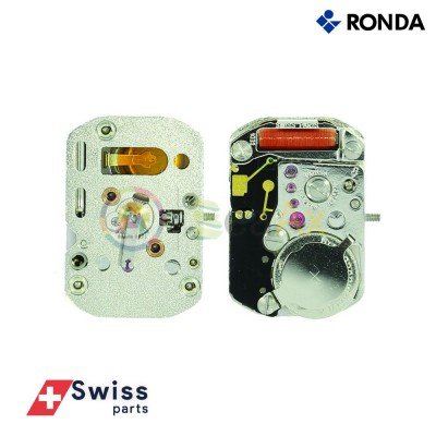 Movimento al quarzo Ronda 1032 Ex 732 due sfere senza data Swiss Parts RND-1032