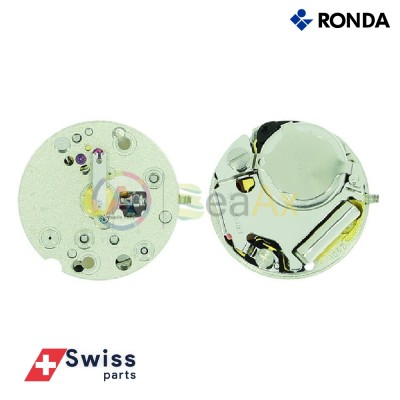 Movimento al quarzo Ronda 1042 due sfere senza data Swiss Parts RND-1042