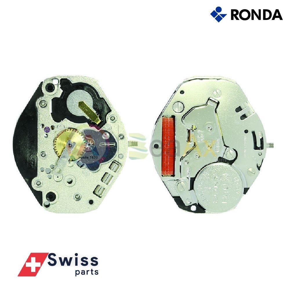 Movimento al quarzo Ronda 1063 tre sfere senza data Swiss Parts RND-1063