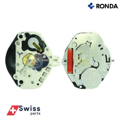 Movimento al quarzo Ronda 1063.0 tre sfere senza data Swiss Parts RND-1063.0
