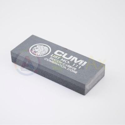 Pietra sintetica abrasiva di Carborundum 2 grane Grossa e Fine - 100x45x15 mm.