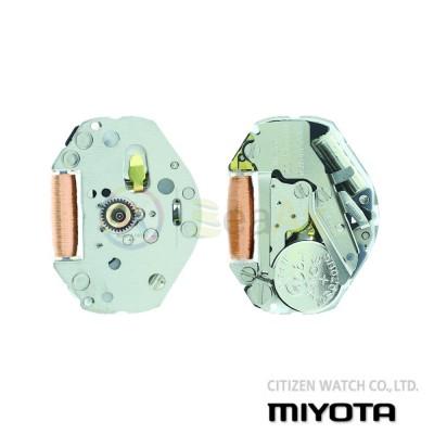 Movimento al quarzo Miyota 2035 tre sfere senza data Citizen Watch Japan MYM-2035