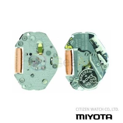Movimento al quarzo Miyota 2036 tre sfere senza data Citizen Watch Japan MYM-2036
