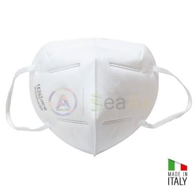 Mascherina pieghevole in tessuto non tessuto FFP2 - Made in Italy MASK-FFP2