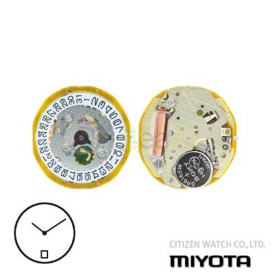Movimento al quarzo Miyota 9T15 due sfere con datario H6 Citizen Watch Japan MYM-9T15-H6