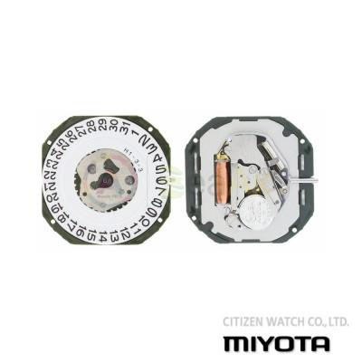 Movimento al quarzo Miyota 2315 tre sfere con datario H3 Citizen Watch Japan MYM-2315
