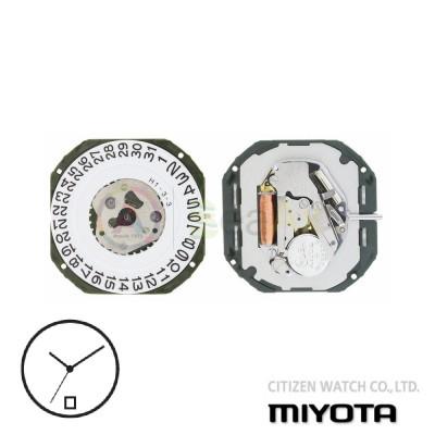 Movimento al quarzo Miyota 2315 tre sfere con datario H6 Citizen Watch Japan MYM-2315-H6