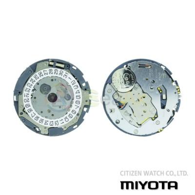 Movimento al quarzo chrono Miyota 0S62 tre sfere datario H3 Citizen Watch Japan MYM-0S62