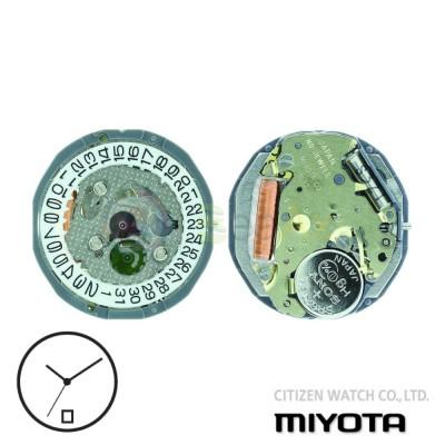 Movimento al quarzo Miyota 1L12 tre sfere con datario H6 Citizen Watch Japan MYM-1L12-H6