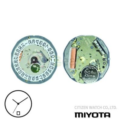 Movimento al quarzo Miyota 1L15 due sfere con datario H6 Citizen Watch Japan MYM-1L15-H6
