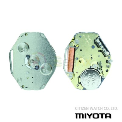 Movimento al quarzo Miyota 1L45 tre sfere con secondi al 6 Citizen Watch Japan MYM-1L45