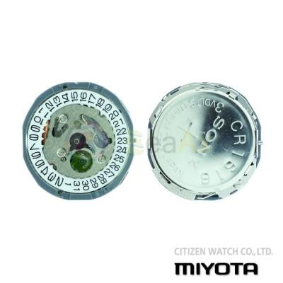 Movimento al quarzo Miyota 1L60 tre sfere datario H3 Citizen Watch Japan MYM-1L60