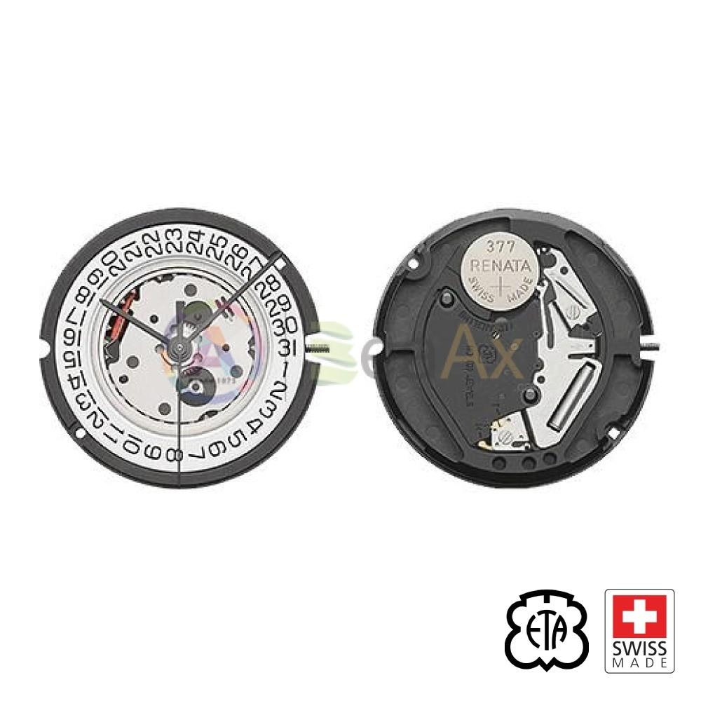 Movimento al quarzo ETA 803.112 / 803.111 tre sfere con datario H3 Swiss Made ETA-803.112