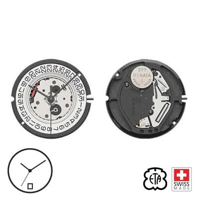 Quartz movement ETA 804.112 / 804.111 date H6 - Swiss Made