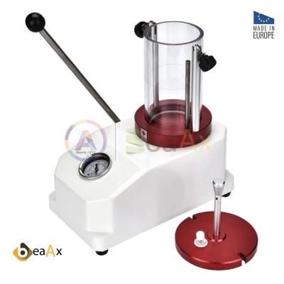 Tester prova impermeabilità BeaAx RED ad acqua max 8 bar cilindro plexi ø 85 mm BX503045-A