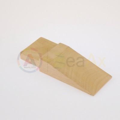 Stocco cuneo in legno duro per banchi da lavoro 135x55x28 mm innesto 40x13 mm AG0124