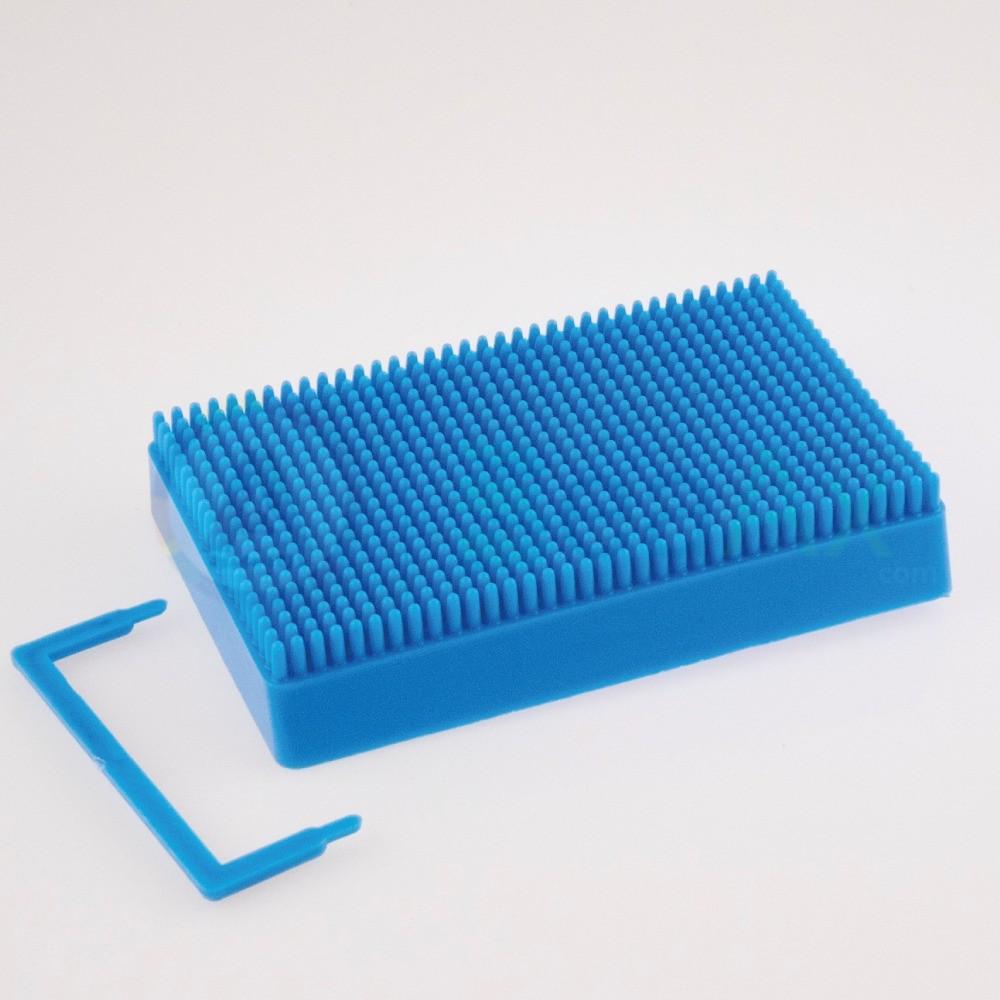 Base porta frese punte mole in plastica con 700 posti supporto da banco ø 3 mm AG0165-C