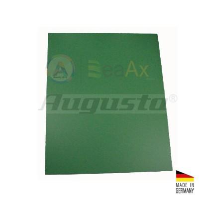 Piano di lavoro sottomano Augusta plastica verde 300x240x0.4 mm Made in Germany BL457