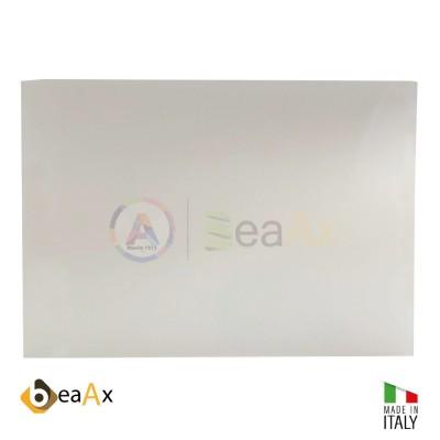 Piano di lavoro sottomano bianco antiscivolo 400x300x2 mm BeaAx Made in Italy BX1001