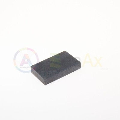 Synthetic touchstone - 65x40x15 mm for testing precious metal