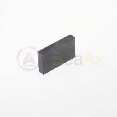 Pietra di paragone sintetica 65x40x15 mm saggio verifica test metalli preziosi AG0051