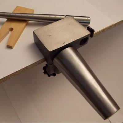 Supporto morsa banco orafo cono anelli e bracciali in acciaio e stocco traforo AG0132