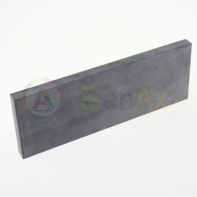 Pietra di paragone sintetica 205x80x15 mm saggio verifica test metalli preziosi