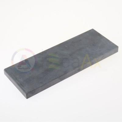 Pietra di paragone sintetica 205x80x15 mm saggio verifica test metalli preziosi AG0055