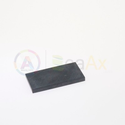 Natural touchstone - 75x38x6 mm for testing precious metal