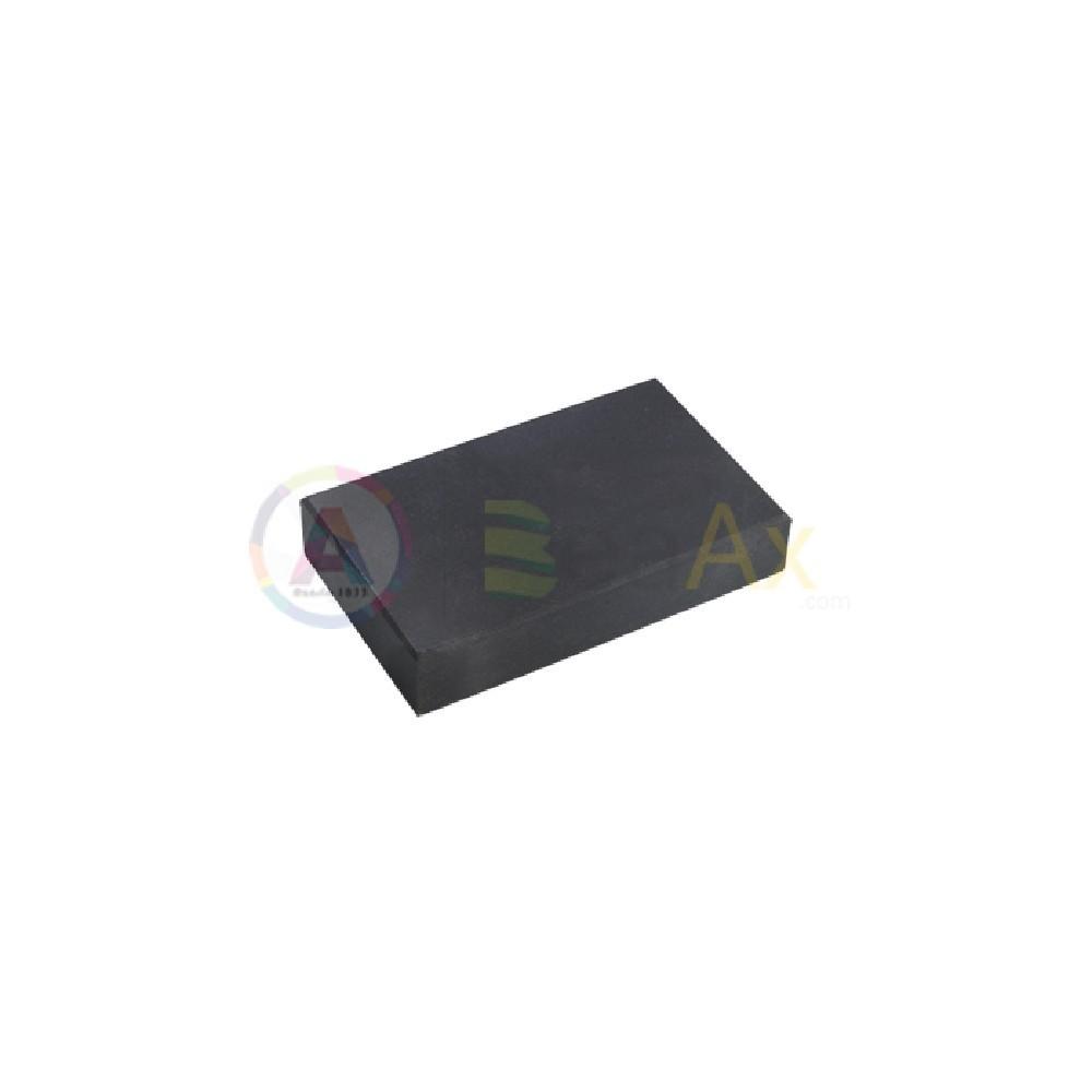 Pietra di paragone naturale 62x38x12 mm saggio verifica test metalli preziosi TS1138-A
