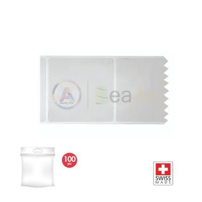 Adesivo elettrostatico di protezione 60x60 mm - Confezione 100 pz.